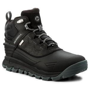 "Womens Merrell Waterproof Boots Thermo Vortex 6/"" Fleece Lined Grey RRP £144.95"
