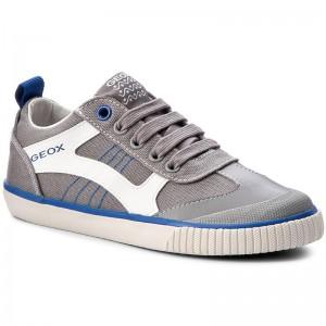 Shoes GEOX J Kiwi B. J J72A7J 01054 C0069 Grey/Royal