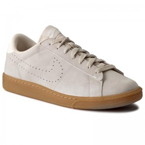 Shoes NIKE Tennis Classic Cs Suede 829351 100 Oatmeal