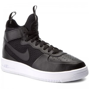Nike Air Force 1 Ultraforce Mid GS shoes black