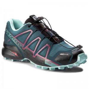 Shoes SALOMON Speedcross 4 Cs W 398433 22 V0 Mallard Blue Y8cAA
