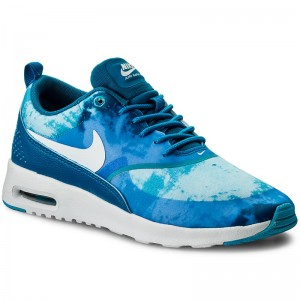 Shoes NIKE Air Max Thea Print 599408 401 Lt Blue Lacquer