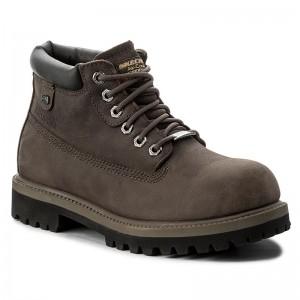 Hiking Boots SKECHERS Verdict 4442CHAR Charcoal Trekker B0w4k