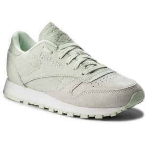 Shoes Reebok CL Lthr Nbk BS9861 WhiteOpal Sneakers