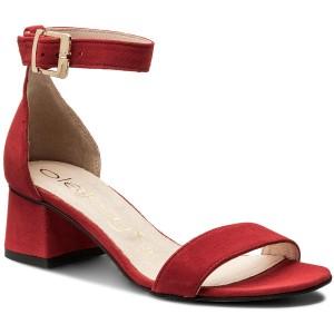Zamsz Oleksy Czerwony Sandals Casual 6398061 ZTPikXlwOu