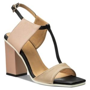 Sandals Biały Casual Whips D02419 0219 002 Baldowski v8wn0mN