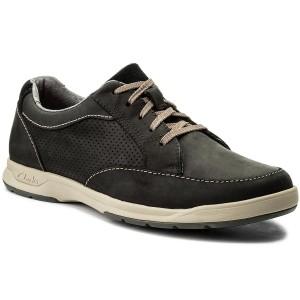 Shoes CLARKS Un Lisbon Lace 261416077 Navy Combi Casual