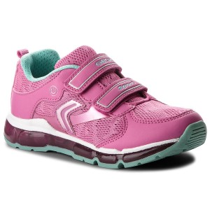 Sneakers GEOX J Android G. A J8245A 01454 C8471 D Fuchsia