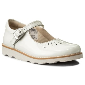 82ede60c8258 Shoes CLARKS - Crown Jump 261329356 White Patent