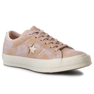 Plimsolls CONVERSE One Star Ox 159705C Particle Beige