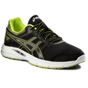 Schuhe ASICS Gel Excite 5 T7F3N BlackSafety YellowBlack