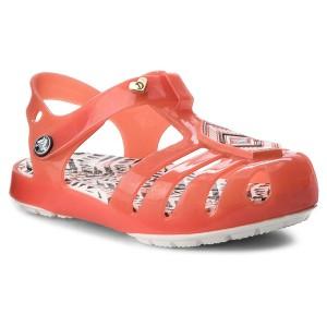1a2b950724f5 Sandals CROCS - Drew X Crocs Isabella Sandal K 205199 Tomato White