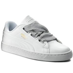 Sneakers PUMA Basket Heart 365198 03 Puma WhitePuma White