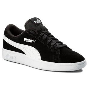 Sneakers PUMA - Vikky Platform Glitz Jr 366856 02 Black White Silver ... f1755273c