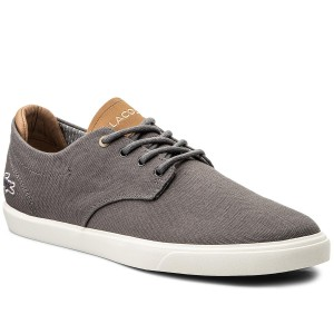 a423db20739dc3 Sneakers LACOSTE - Esparre 118 1 Cam 7-35CAM00252P2 Dk Gry Gry