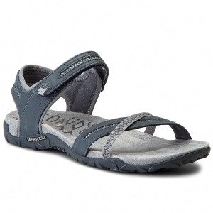 Sandals MERRELL Terran Ari Lattice J94020 Black Casual