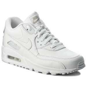 new arrivals 2b98a 323c7 Shoes NIKE - Air Max 90 Leather 302519 113 True White True White