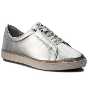 6004218ed2cc Sneakers TOMMY HILFIGER Metallic City Sneaker FW0FW03359 Silver 000