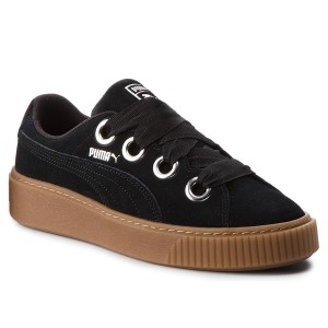 2f3575c87a2 Sneakers PUMA Platform Kiss Suede 366461 01 Puma Black Puma Silver