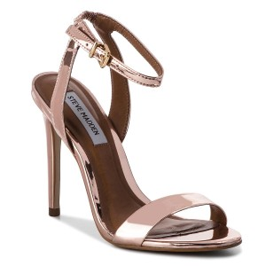 a33b1dff279 Sandals STEVE MADDEN Landen High Heel Sandal 91000999-07004-15002 Rose Gold