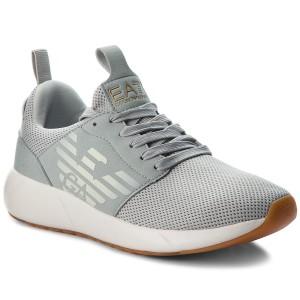 24c1af5d4 Sneakers EA7 EMPORIO ARMANI - X8X007 XCC02 K086 Grey Tri Tonal ...