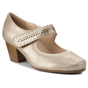 Shoes CAPRICE 9 24505 20 White Nappa 102 Flats Low