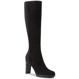 Knee High Boots GEOX D Annya H. G D84AEG 00021 C9999 Black