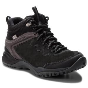Trekker Boots MERRELL - Siren Traveller Q2 Mid Wp J77560 Black 1e46e0a016