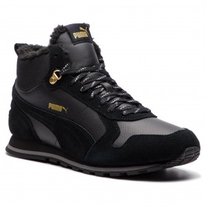 Sneakers PUMA - St Runner Mid Fur 365102 01 Puma Black Quiet Shade 0efe037d35