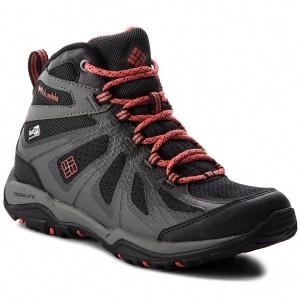 Trekker Boots COLUMBIA - Peakfreak Xcrsn II Xcel Mid BL1763 Black Red  Canyon 013 deb41931ff