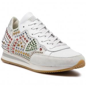 2e56976755bf2 Sneakers PHILIPPE MODEL - Tropez TRLD N0001 Mondial Pop Jaune Fucsia ...