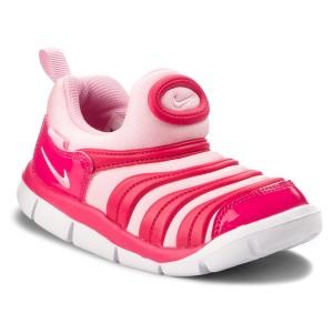 premium selection bbc2e 8b7ac Shoes NIKE Dynamo Free (TD) 343938 626 Rush Pink Pink White