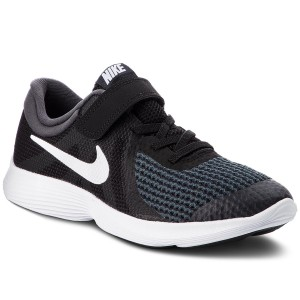 best sneakers 23bca 0a09c Shoes NIKE Revolution 4 (PSV) 943305 006 Black White Anthracite