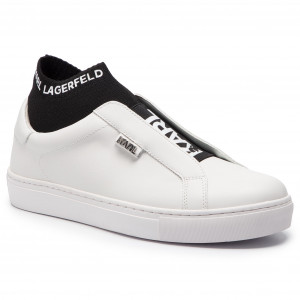 0eb4672424 Plimsolls KARL LAGERFELD - KL61001 Black Lthr - Sneakers - Low shoes ...