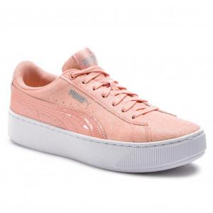 252bfe1b4 Sneakers PUMA - Vikky Platform Glitz Jr 366856 04 Peach Bud/Peach Bud