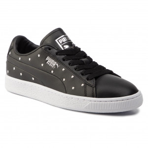 Sneakers PUMA Basket Remix Wn's 369956 03 Puma WhitePuma