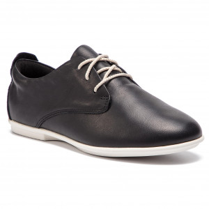 Shoes CLARKS Tri Actor 261237994 Black Leather Flats