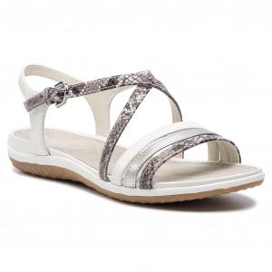 1199e4a4d1 Sandals GEOX - D Dorotha C D828TC 00041 C1002 Off White - Wedges ...