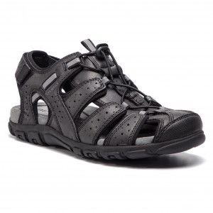 Sandals GEOX U S.Strada B U6224B 0MEBC C9999 Black