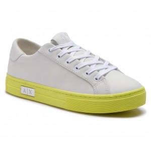Sneakers ARMANI EXCHANGE XDX027 XCC14 A169 White Yellow 2e4477f8b3d