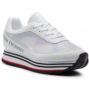 Sneakers ARMANI EXCHANGE XDX030 XV123 A222 White 09b4762a037