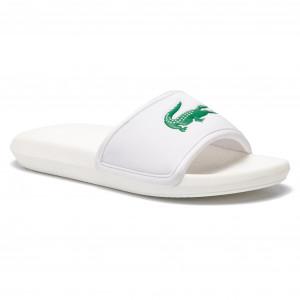 9c270412876eb Slides LACOSTE - Croco Slide 119 1 Cma 7-37CMA00181R7 Green/White ...