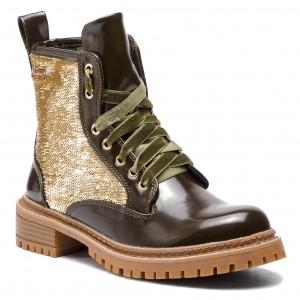 Stiefel von Damen PEPE JEANS PLS50340 COLLIE 734 SAFARI Grösse 36