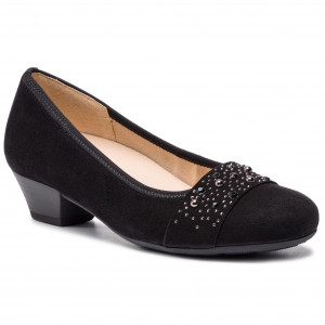 82 Low Gabor 24 Women's 201 Shoes Teakolive Heels f7Y6bgy
