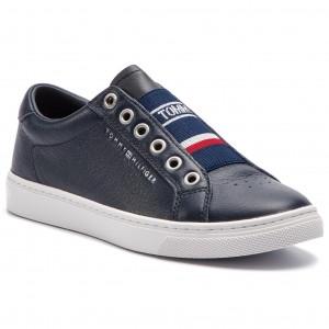 9f2ec6dd9d514 Sneakers TOMMY HILFIGER Tommy Elastic City Sneaker FW0FW04019 Midnight 403
