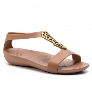 82c429def859 Sandals CROCS - Serena Embelish Sndl W 205601 Bronze Bronze