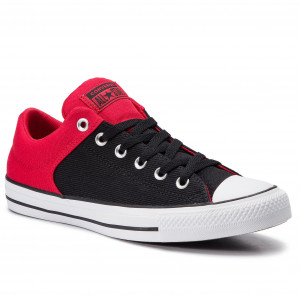 57751bddb5c4 Sneakers CONVERSE Ctas High Street Ox 163218C Enamel Red Black White