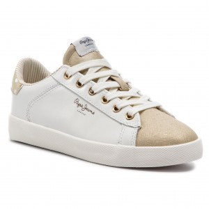 Pepe Sneakers Jeans Gold Part Pls30666 099 Brompton m0vN8nw