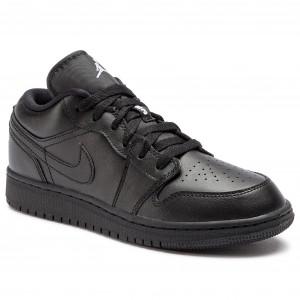 e81c0408abf6 Shoes NIKE - Air Jordan 1 Low Gg 554723 032 Black Metallic Gold ...