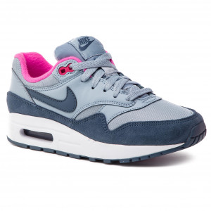 Shoes NIKE - Air Max 1 (GS) 807605 400 Obsidian Mist Monsoon Blue 77ba0705c87